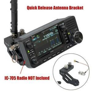 Fuer-ICOM-IC-705-Tragbare-Kurzwellenradio-Schnellwechsel-Antennenhalterung-Neu