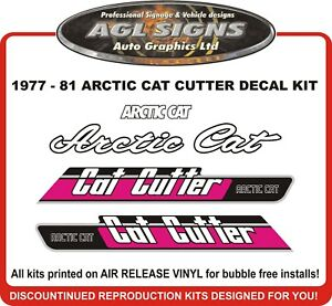 1977-1981-ARCTIC-CAT-CAT-CUTTER-Reproduction-Decal-Kit-graphics-stickers