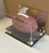 Ultra Clear UV Protect Football Display Case Stand Holder Acfb18m