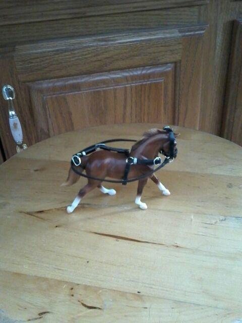 No horse Breyer horse custom stablemate harness