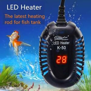 Details about Aquarium Water Heater Electric Heating Rods Digital  Temperature Controller