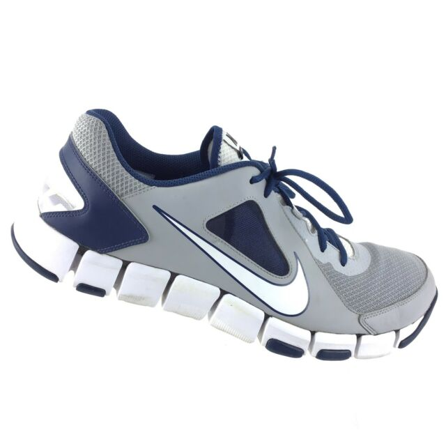 32326db64118 Nike Flex Show TR 2 Training Mens 14 Athletic Running Gray White Blue Shoes  R6S9