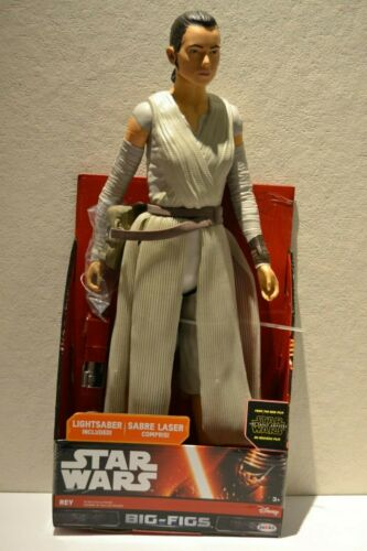 Star Wars Big-figs personaje Rey con espada láser 45cm//18 pulgadas