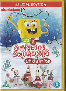 Spongebob Christmas Special.Details About Its A Spongebob Squarepants Christmas Dvd Special Edition 7 Episodes