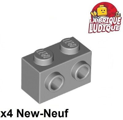 studs Neuf Light bluish gray Lego 11211-4x Briques // Brick Modified 1x2 w