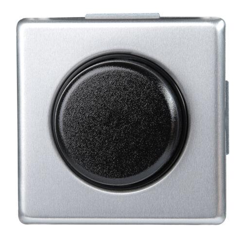 Kopp Druck-Wechsel-Dimmer für konv Trafos Vision 40-400W//VA stahl silber Neu
