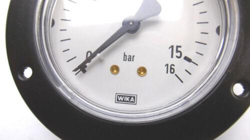 """Wika manómetro 0-16 bar ø85mm 1//4/"""" øklein 63mm aprox."""