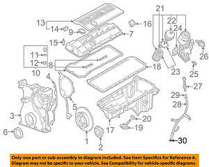 [GJFJ_338]  BMW OEM 01-05 525i 2.5L-L6 Engine-Guide Tube O-ring 11431740045   eBay   2001 Bmw 525i Engine Diagram      eBay
