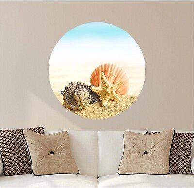 Vinyl Decal Beach Coastal Summer 443 Sandy Toes Salty Kisses Seashell Wishes