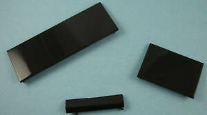New Black Wii Replacement Game Cube Controller Port Covers
