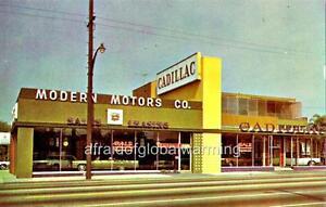 Photo 1960s. Glendale, California. Modern Motors Co ...