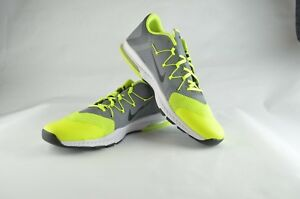 competitive price 0f790 07760 Image is loading Nike-Zoom-Train-Complete-Grey-Volt-Men-Cross-