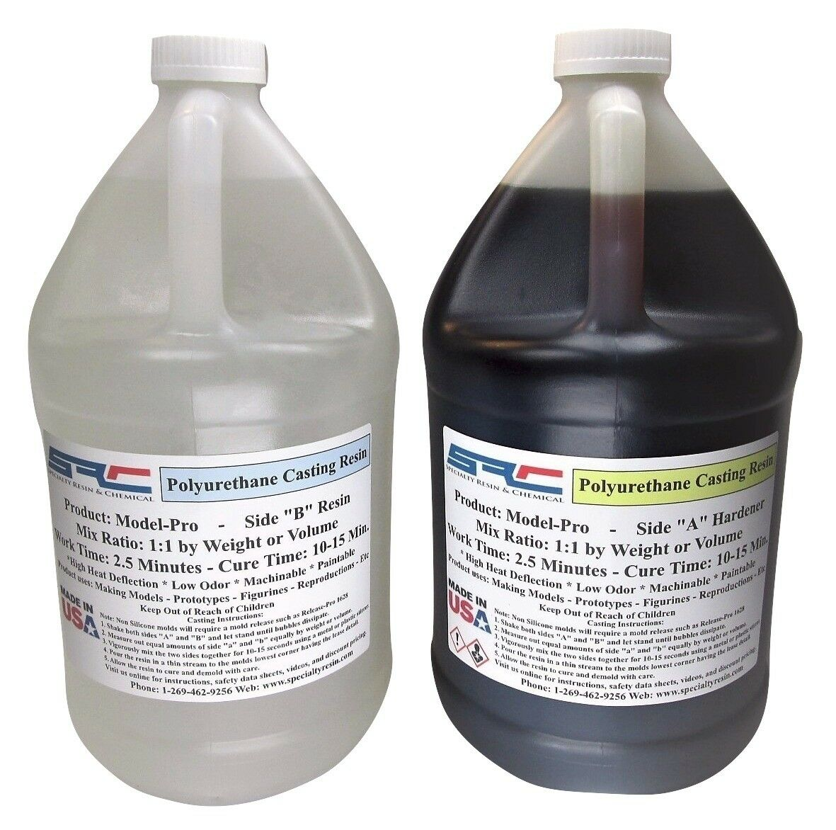 Model-Pro Polyurethane Casting Resin 2 Gallon Kit Free Shipping
