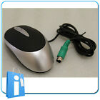 Lote 10 x Raton Optico PS2 Negro Plata Nuevo OEM - lot optical mouse ratones