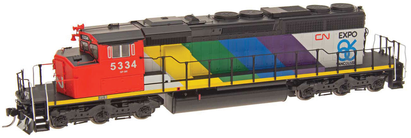 Traccia h0-DIESEL sd40-2w Canadian National con loksound - 49305s NUOVO