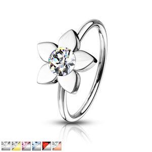 1pc-Crystal-Gem-Flower-Nose-Hoop-Cartilage-Ring-Rook-Daith-Helix-Tragus