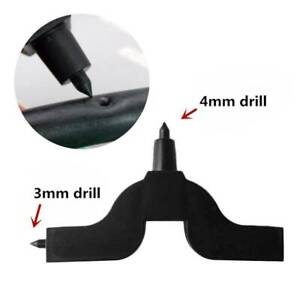 Water Irrigation Hose Connector Hole Punch 3mm 4mm 8mm Fit Hydroponics Garden