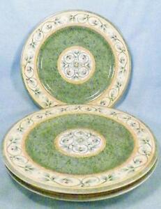 Image is loading 3-Pfaltzgraff-French-Quarter-Salad-Plates-Dessert-Leaves- & 3 Pfaltzgraff French Quarter Salad Plates Dessert Leaves Vines ...