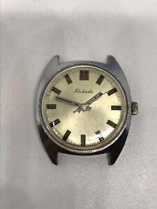 RAKETA-ARMBANDUHR-RUSSISCHE-Vintage-mechanische-UdSSR-Sowjetische-Armbanduhr-Mannes