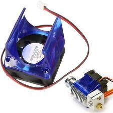 DC 12V Plastic Cooling Fans 30*30*10mm + Blue Case For 3D Printer  V6 NEW