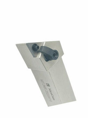 NiceCutt MTJNR 16-4D 27° Indexable Turning Tool Holders Double Clamp Lock