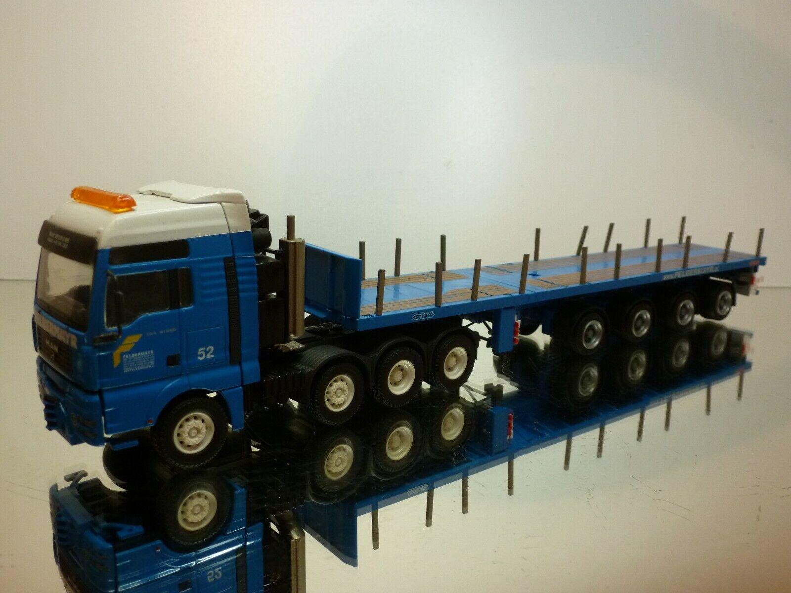 exclusivo CONRAD MAN TGA 41660 FELBERMAYR NOOTEBOOM HEAVY HAULAGE - azul azul azul 1 50 - VERY GOOD  ventas al por mayor