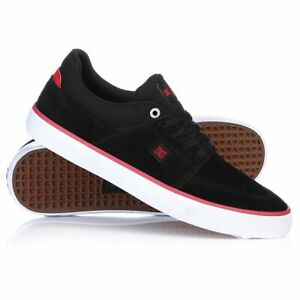 DC-SHOES-WES-KREMER-S-NERO-ROSSO-XKRW-SCARPE-SKATE-SHOES-SNEAKERS
