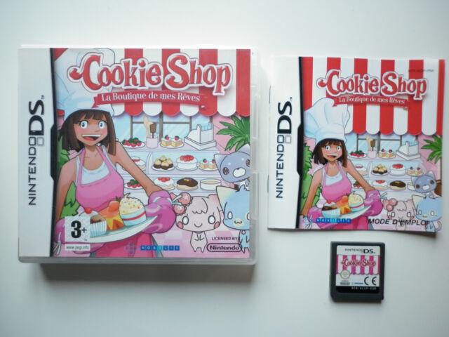 Cookie Shop La Marchande Jeu Vidéo Nintendo DS