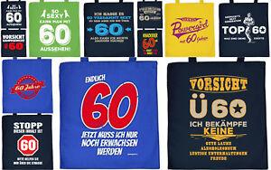 Geschenk 60 Geburtstag Geschenkverpackung 60 Jahre Geschenktasche