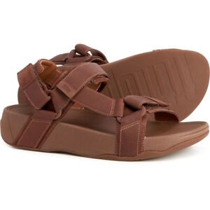 FITFLOP-RYKER-SPORT-SANDALS-NEW-MEN-039-S-MANY-SIZES-CHOCOLATE-BROWN-MIX