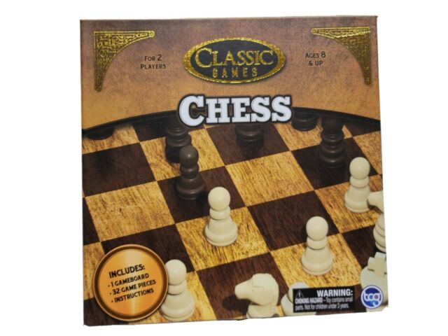 Chess & Checkers Board Game Set Game night