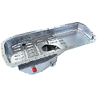 Aeroflow AF822017 8L Fabricated Front Sump Oil Pan