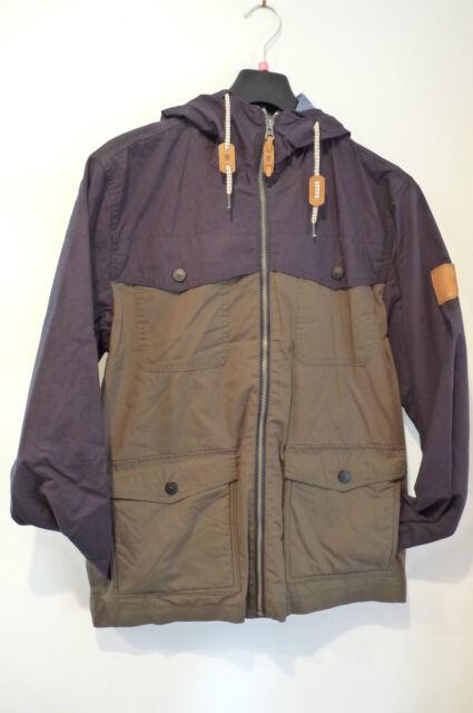 FENCHURCH MENS JLANCY OLIVE/NAVY HOODED COAT / JACKET   RRP £70 (S - XL)