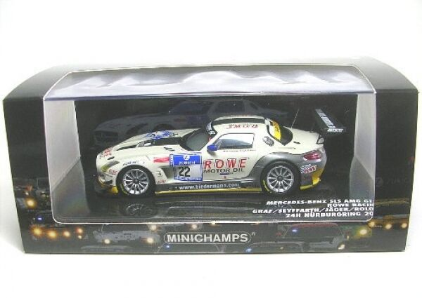MERCEDES-BENZ sls AMG gt3 No. 22 24h Nurburgring 2012