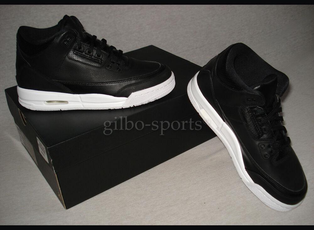Nike Air Jordan 3 III Retro BG Black Noir 36 36,5 37,5 38 38,5 39 40 398614 020