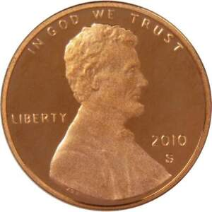 2010 S Lincoln Shield Cent Choice Proof Penny 1c Coin Collectible