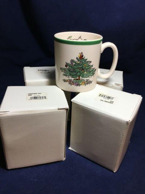 Spode Christmas Tree Mugs - NIB   eBay