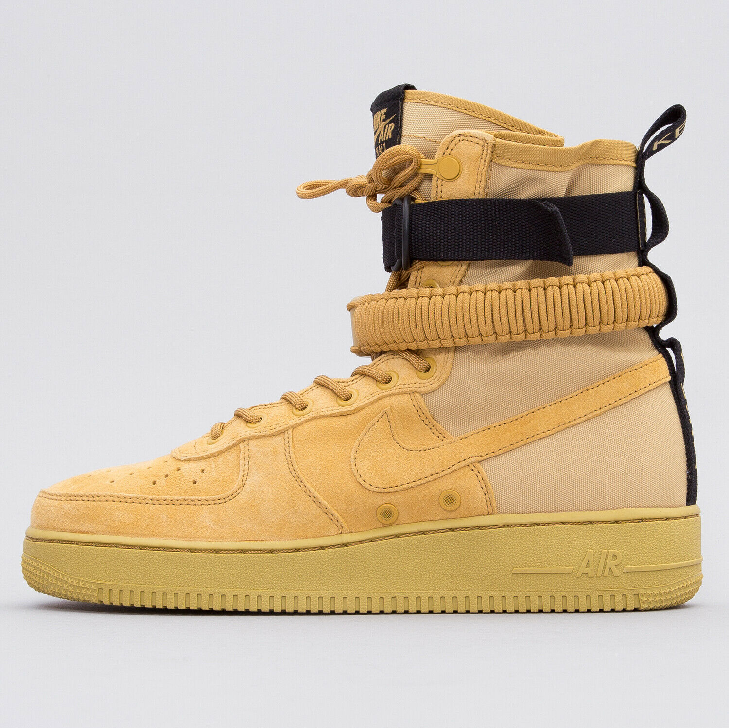 Nike SF AF1 High Club gold Wheat Special Force