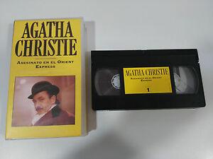 Agatha-Christie-Murder-in-il-Orient-Express-Nastro-VHS-Collezzionista
