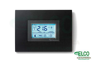 Programmable Thermostat Digital Touch Screen Recess Finder Thermostat