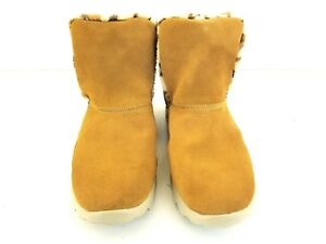 SKECHERS-Womens-On-The-Go-V-STRIDE14386-Suede-Ankle-BOOTS-SZ-10M