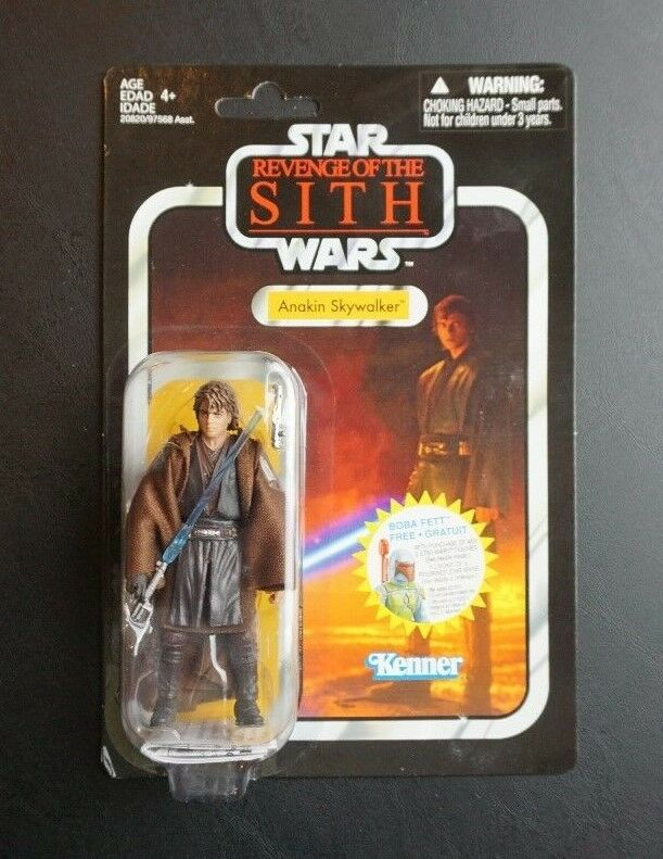 Anakin skywalker (darth vader) star - wars - vintage - kollektion vc13 tri - logo - variante