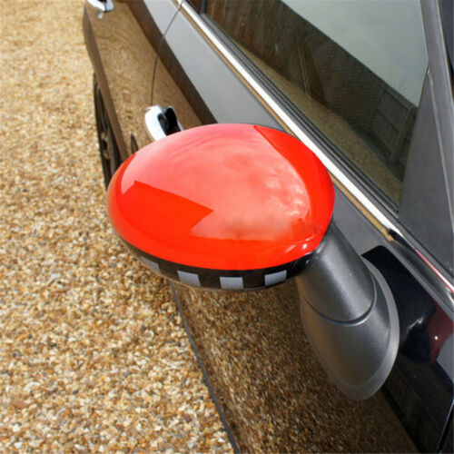 Side Wing Mirror Cover Cap Trim for Mini Cooper F Series Without Sensor Hole 06