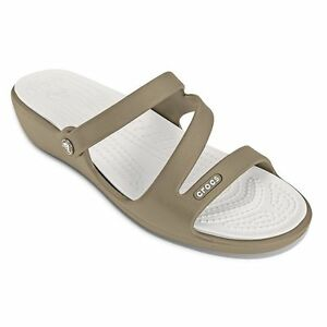 4b837d2a2968 Image is loading NWT-Womens-Crocs-Patricia-Wedge-Sandals-Flip-Flop-
