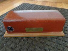 Vintage Funeral Burial Casket Vault Salesman Sample Miniature
