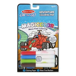 Melissa-And-Doug-On-The-Go-Magicolor-Adventure-Coloring-Pad-NEW-Toys