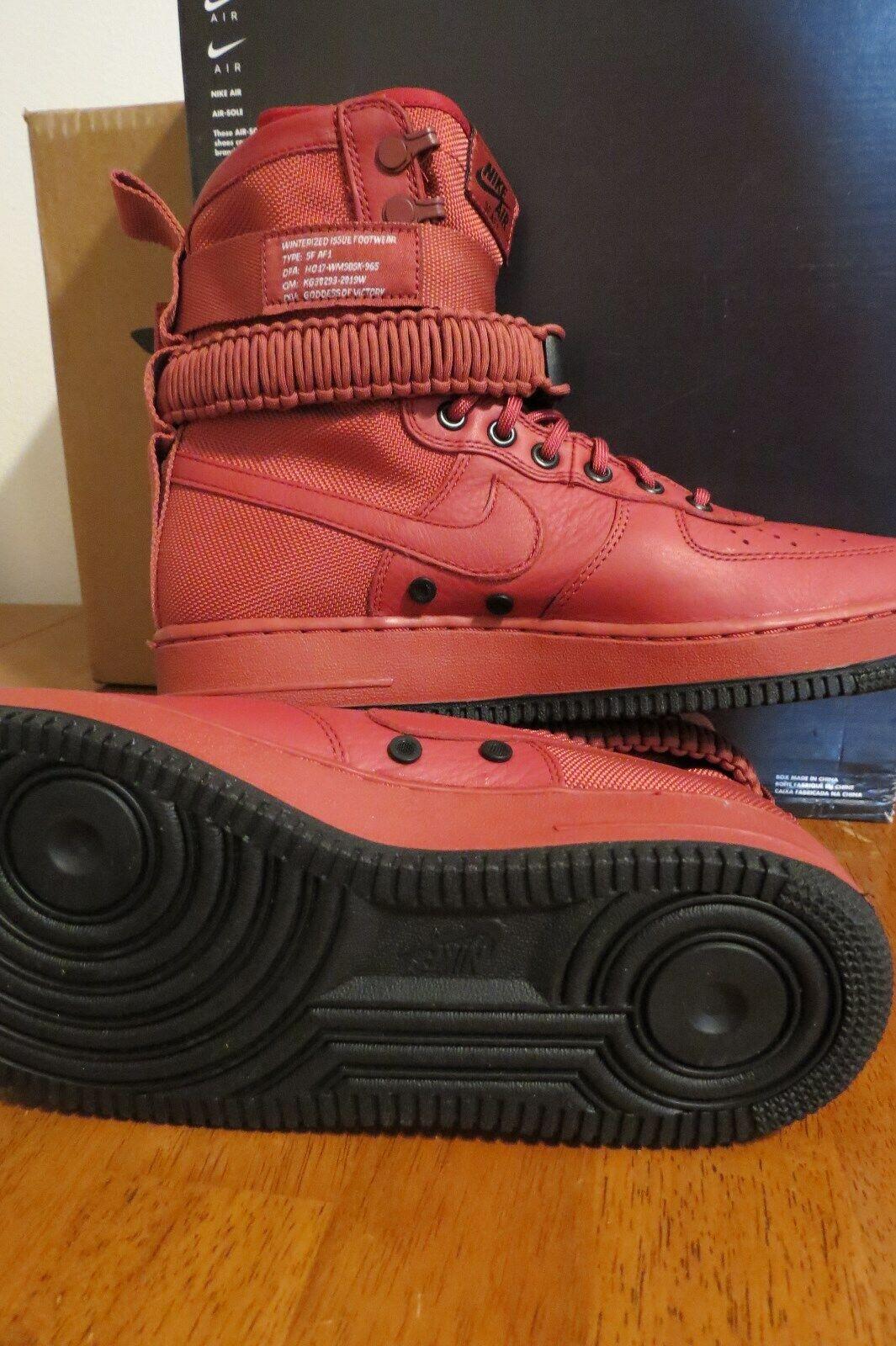 NIKE W SF AF1 'CEDAR' Special Field Air Force 1 High Top Sneaker shoes, 10.5 NEW