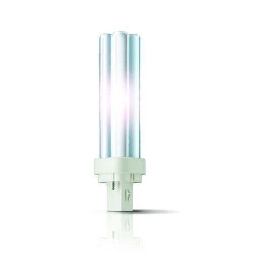 5x Philips Kompaktleuchtstofflampe MASTER PL-C 2P G24d 827 Warmton-extra 13W