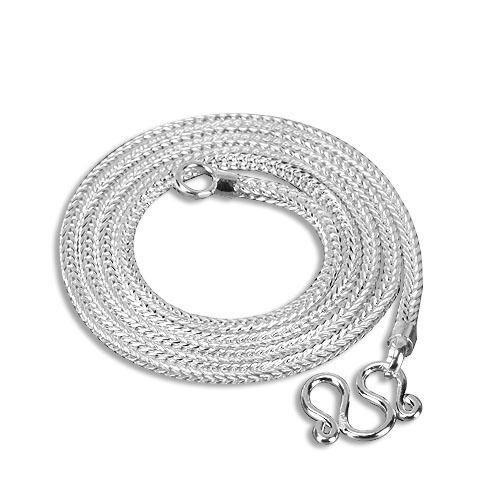 """20/"""" Grappe Chaîne Solide Argent Sterling 925 Collier Bijoux largeur 2.5mm-sc361-3"""