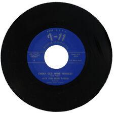 "JACK (THE BEAR) PARKER Feat. EMMET DAVIS  ""CHEAP OLD WINE WHISKEY""  R&B  LISTEN!"